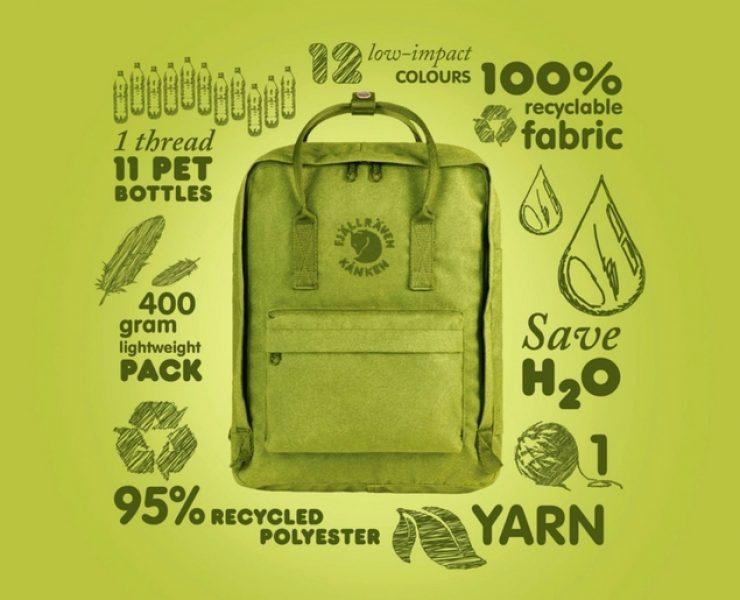 Fjällräven: lo zaino green che nasce dalla plastica