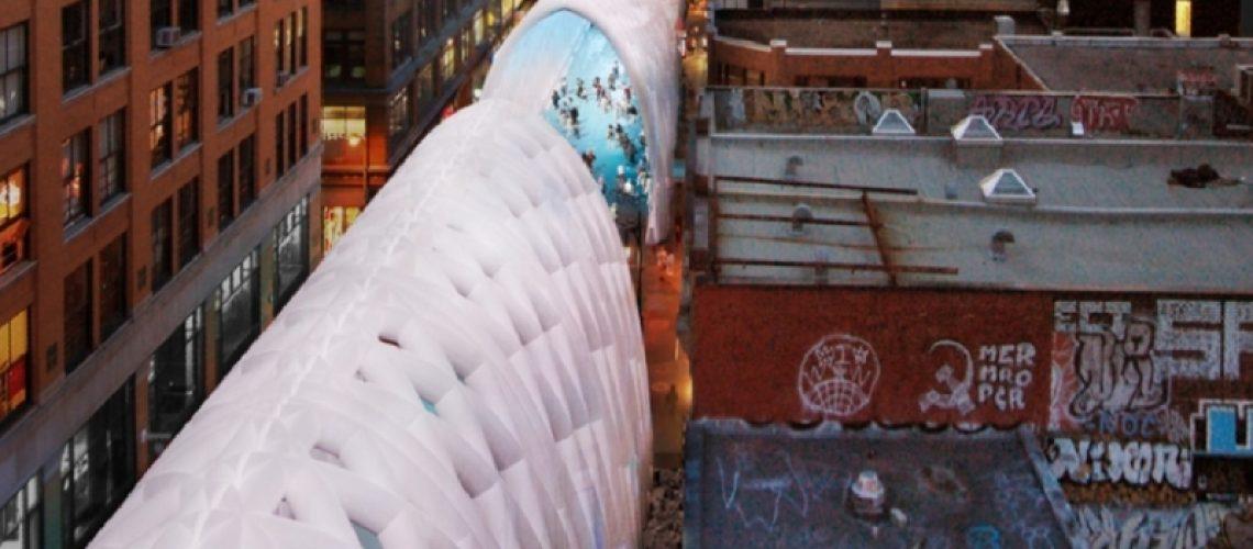 Montréal: un'idea per tutelare i pedoni durante i lavori