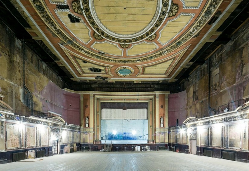 Alexandra Palace Theatre. Immagini di Miles Willis - Getty Images