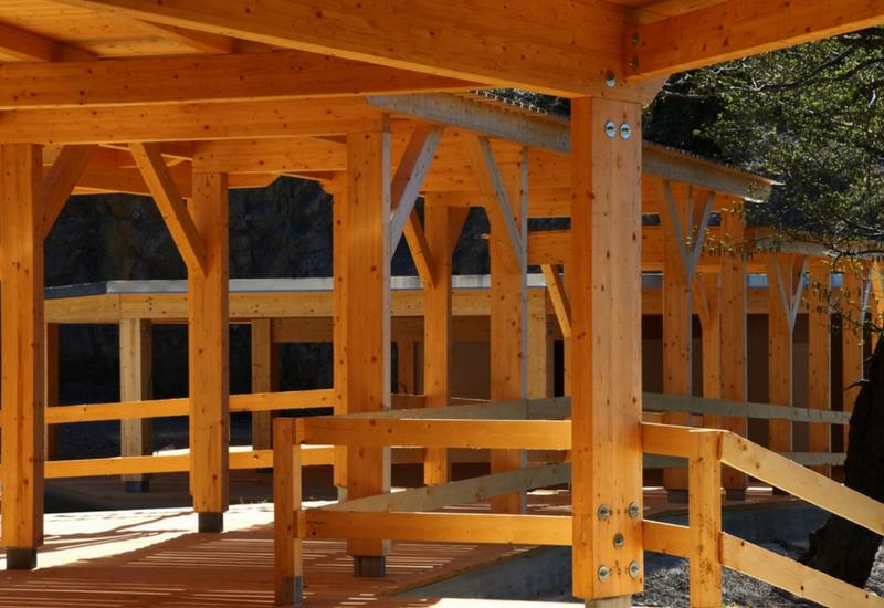 Parte della nuova struttura dei padiglioni del MUN