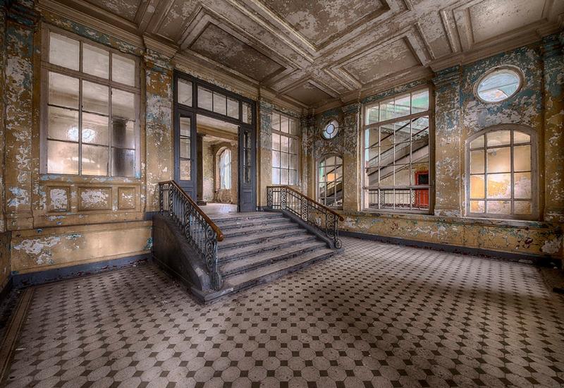 L'ospedale militare di Beelitz, in Germania