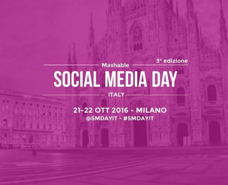 Mashable Social Media Day Italia 2016: ci siamo!