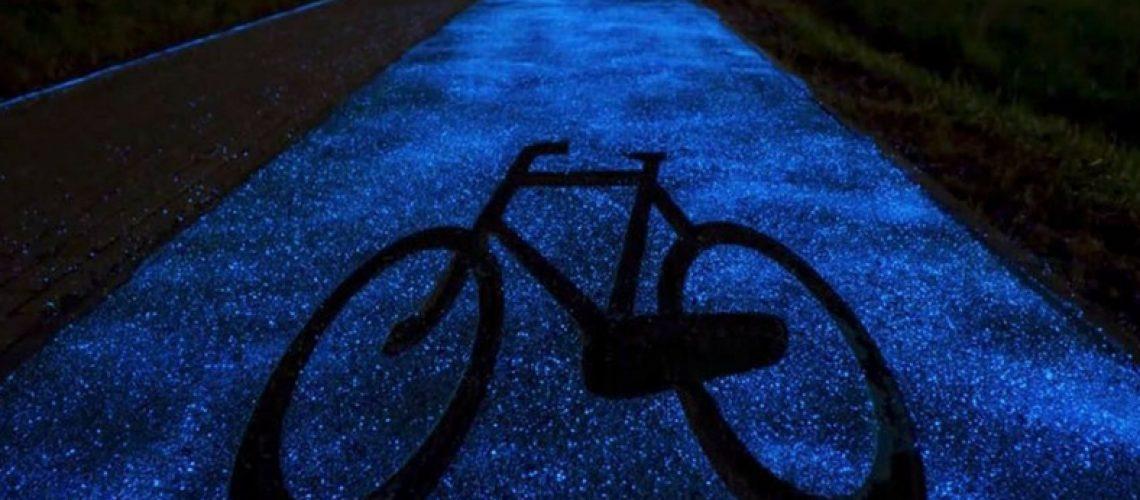 Le piste ciclabili 'glow in the dark' sono realtà!