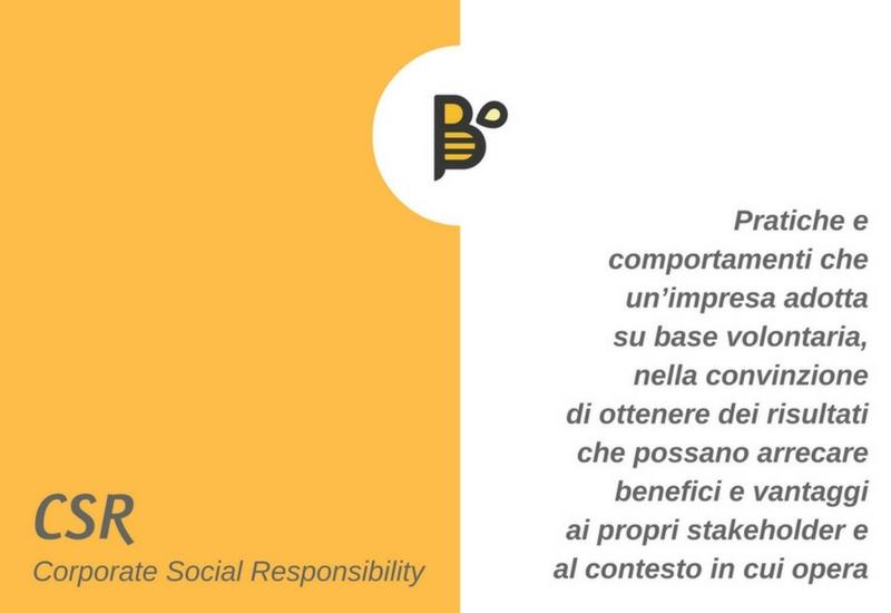 Cosa si intende per CSR?