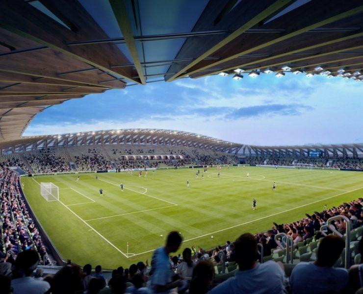 Un intero stadio in legno? È architettura sostenibile!