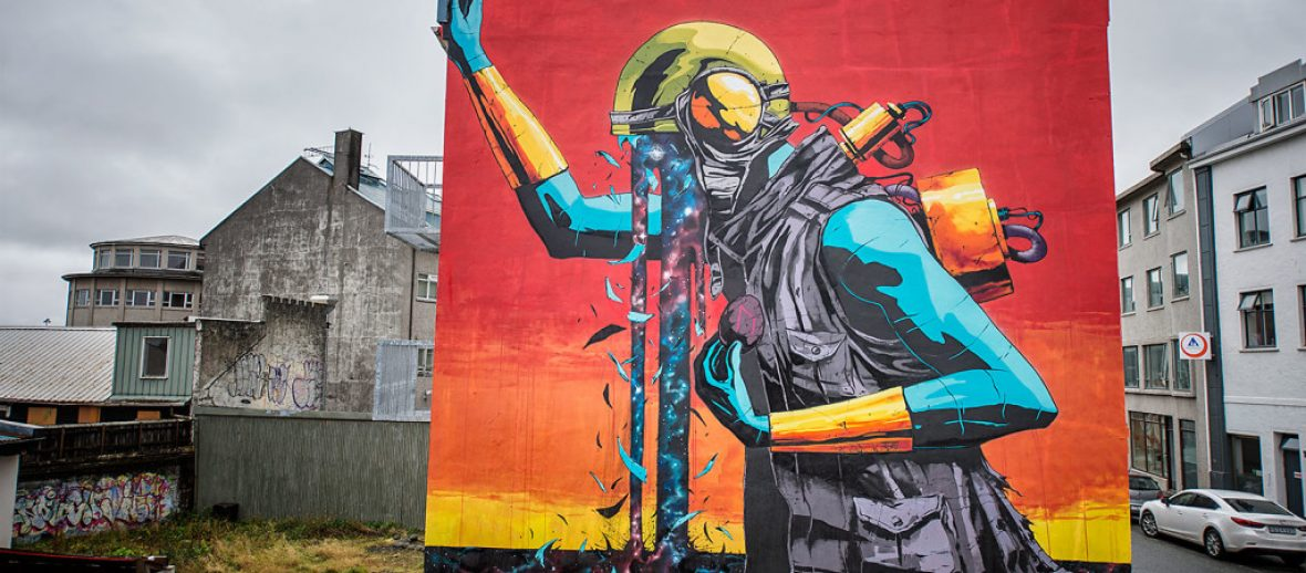 Reykjavik Wall Poetry: l'Islanda tra musica e street art