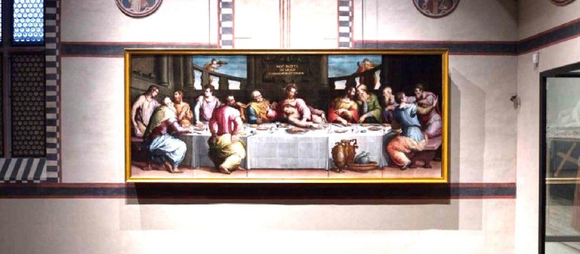L'Ultima Cena torna in Santa Croce con le donazioni