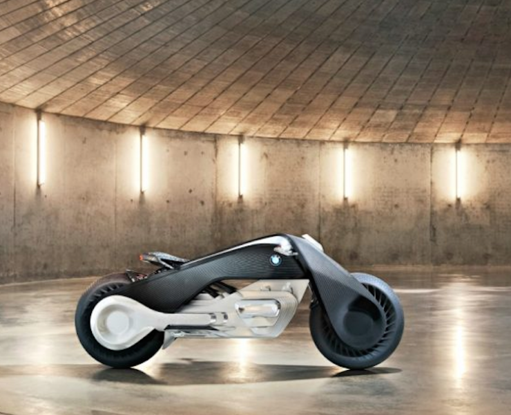 BMW Vision Next 100: la moto elettrica del futuro