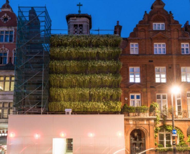 Green Walls: il verde sui ponteggi di Londra