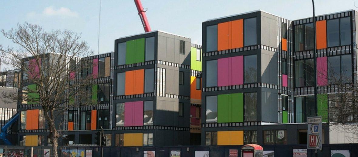 Social housing a Londra? In modalità Lego!
