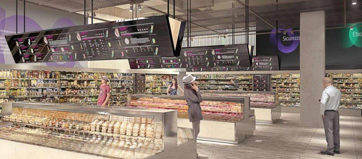 COOP presenta la sua idea di Supermercato del futuro