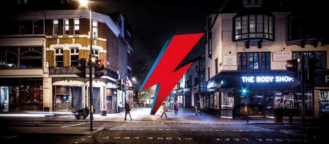 Un'opera d'arte per celebrare David Bowie con il crowdfunding!