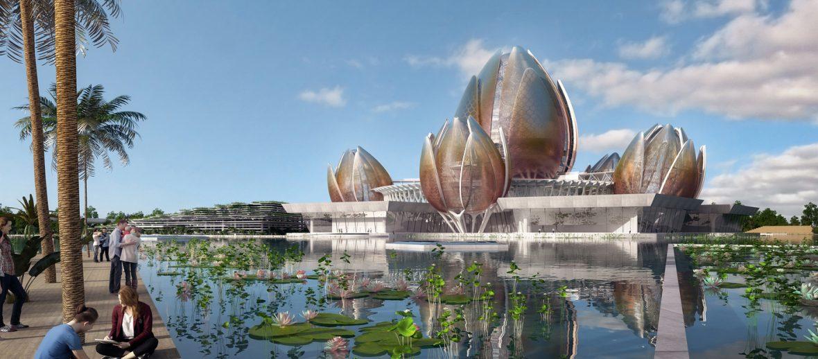 Hanoi Lotus Center: quando la natura è d'ispirazione