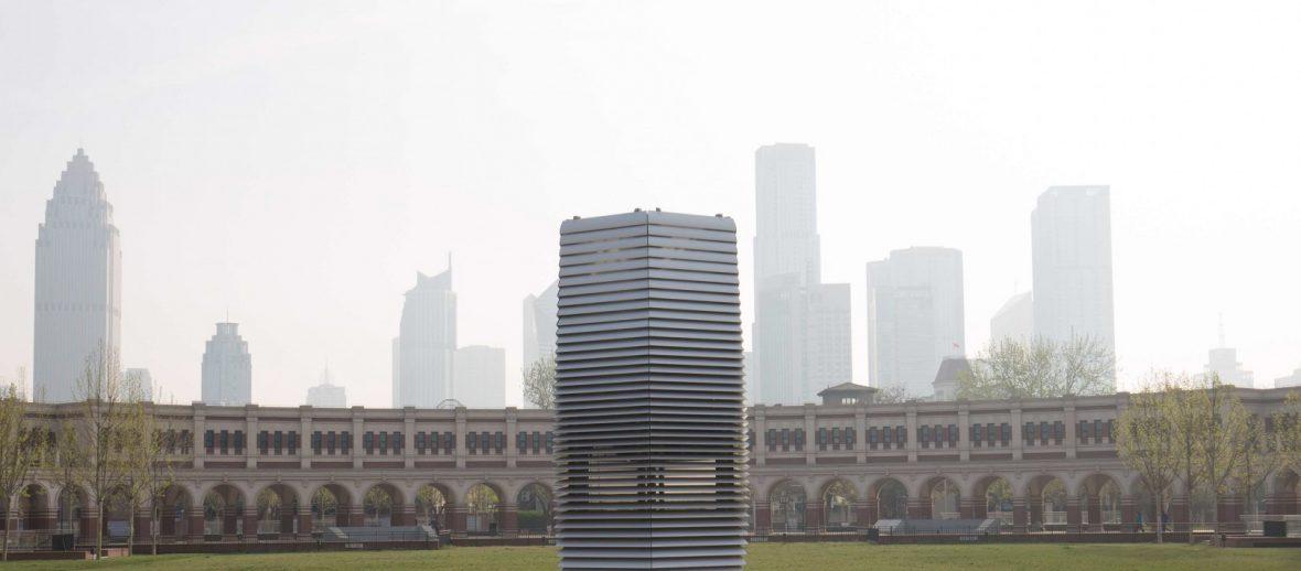 Smog Free Tower: ecco la torre che aspira l'inquinamento