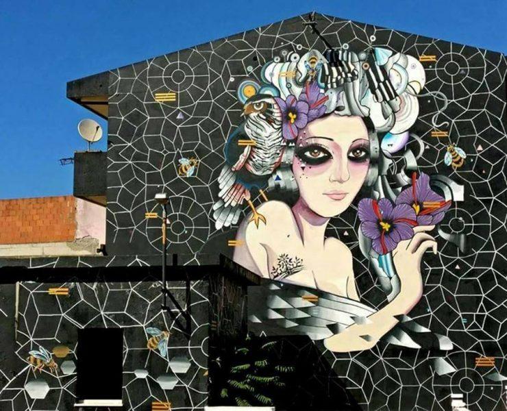 San Gavino: la street art fa rigenerazione urbana in Sardegna