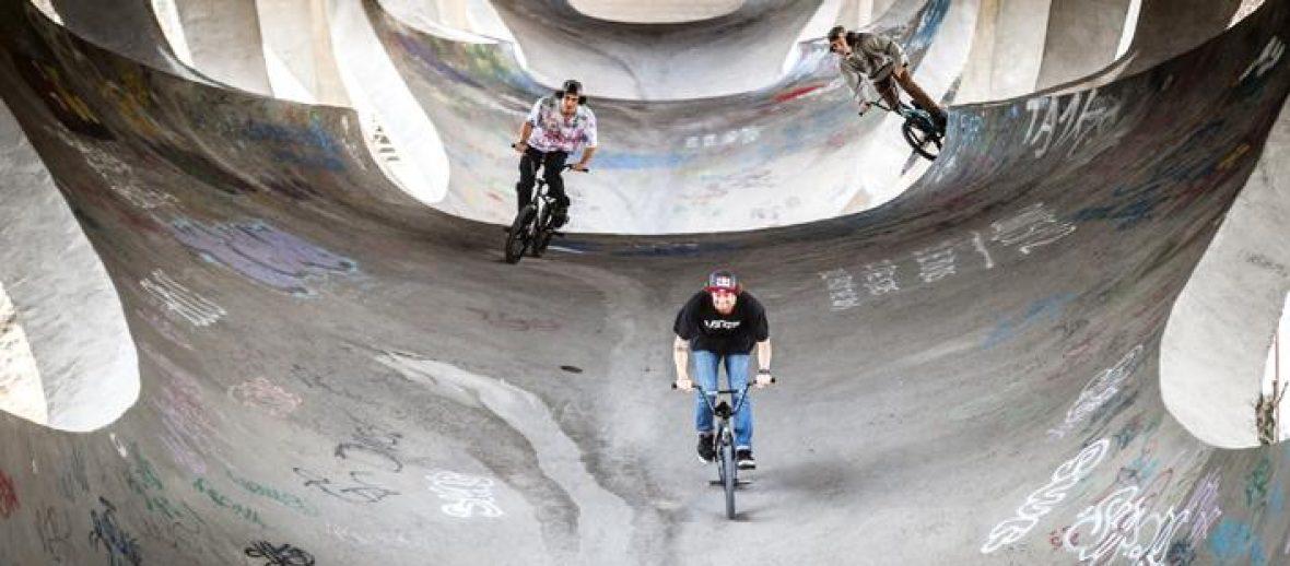 La città prende vita con i rider: BMX e architettura con il Red Bull Design Quest